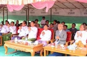 ミャンマー「eVillage」ICTセンターのオープニング式典